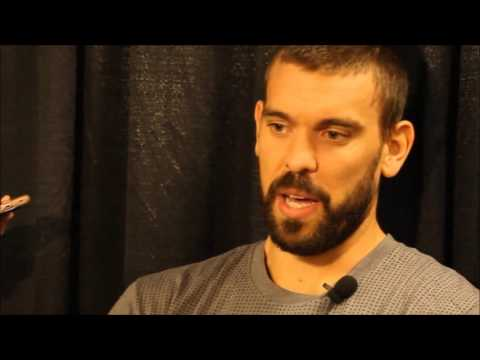 Marc Gasol - Memphis Grizzlies Media Day 2016