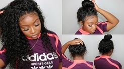How To Secure The Back Of A 360 Lace Frontal Wig | No Glue! No Gel! | Eayon Hair
