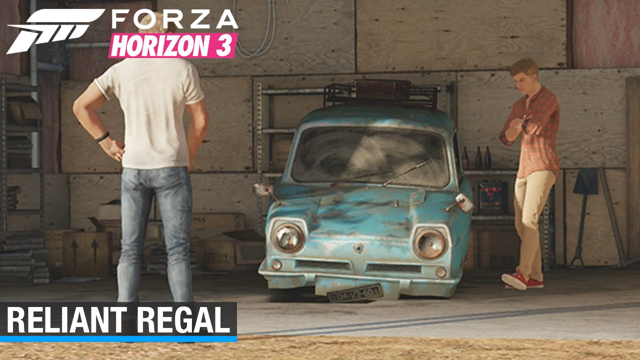 Forza Horizon 3 Reliant Regal Barn Find Youtube