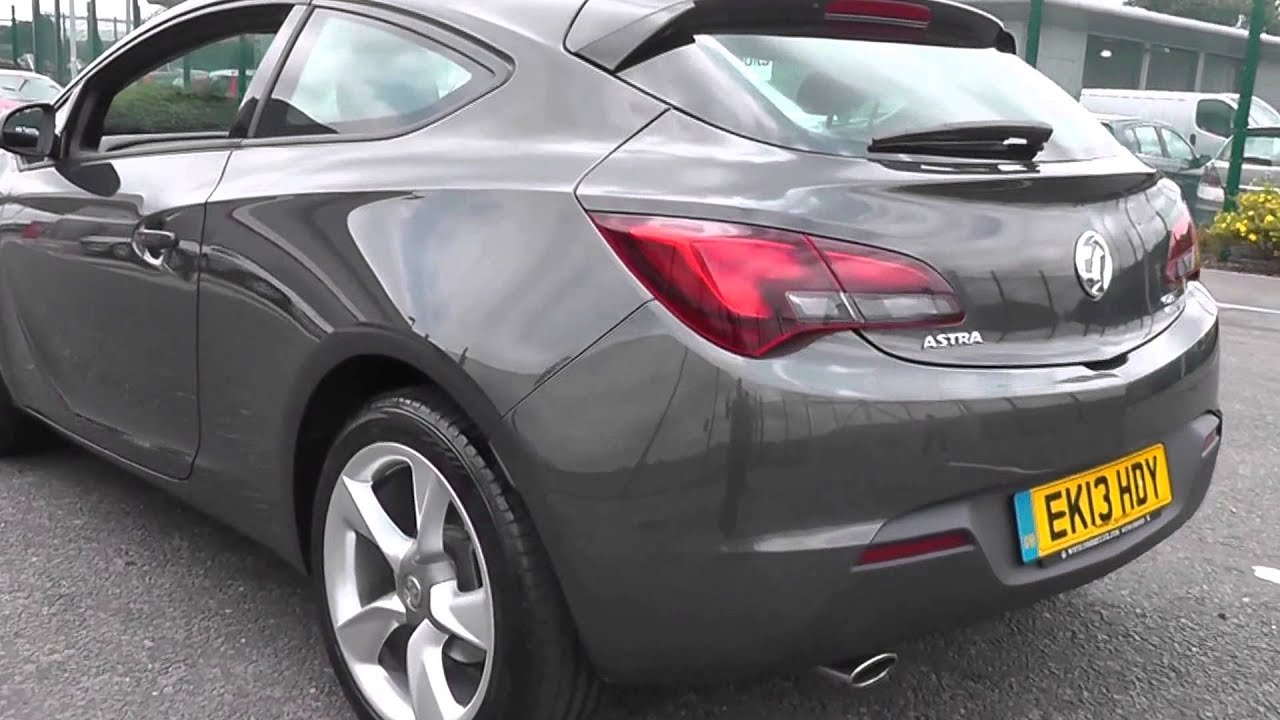 2013 Vauxhall Astra Gtc Sport 1 4l Asteroid Grey At Toomey