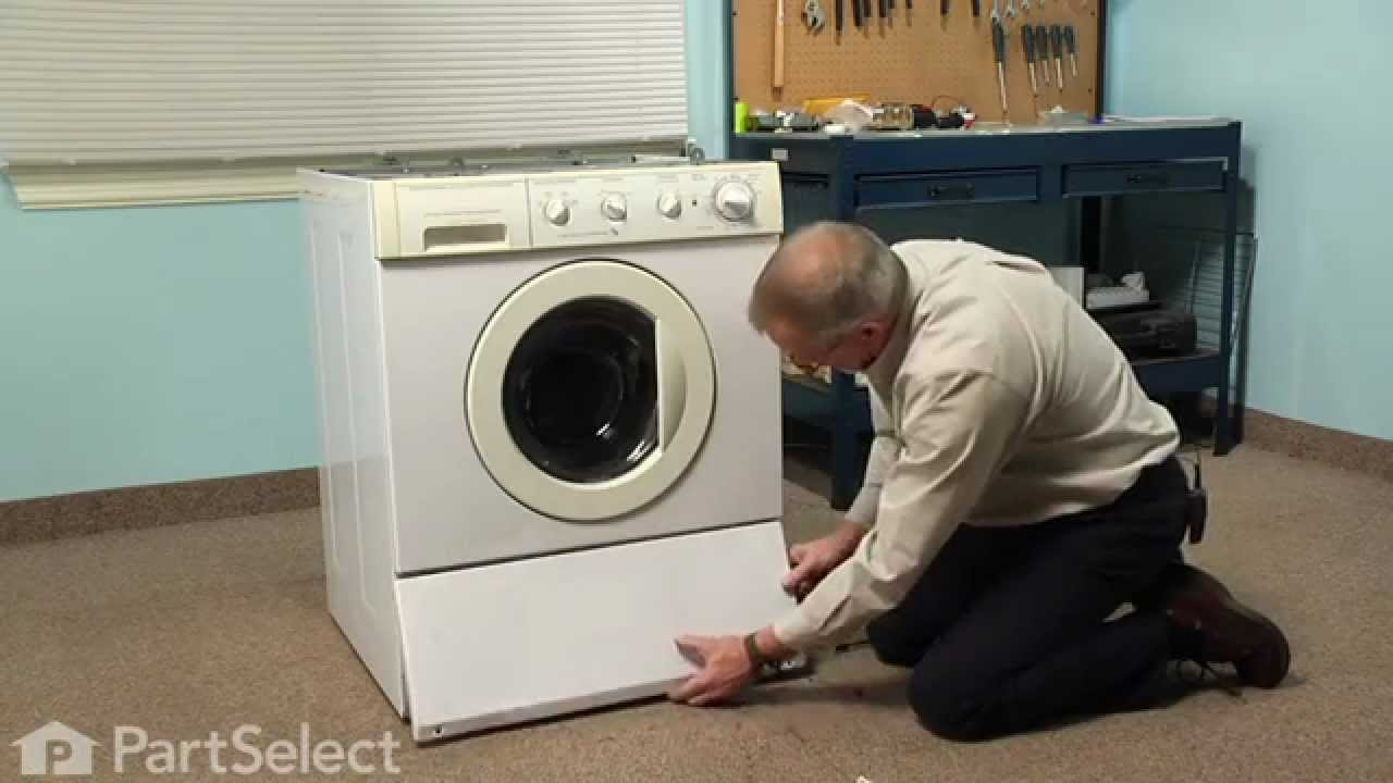 washing machine repair replacing the drain pump frigidaire part rh youtube com