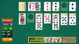 Playing A Simple Solitair Game From Random Salad Games