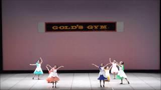 ゴールドジム ダンスの発表会 あゆな&わかな&えれな えれな 検索動画 22