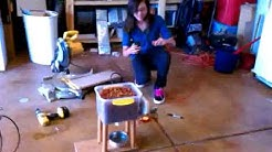 Science fair project : Automatic dog feeder