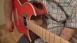 Rasgueo 5 from scratch for you! beginners level guitar lesson by Ruben Diaz Málaga Spain
