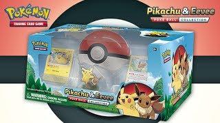 Pokémon TCG: Pikachu & Eevee Poké Ball Collection