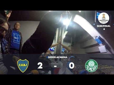 ¡LA CABINA DE LETO EXPLOTÓ! Copa Libertadores: Boca 2 Palmeiras 0