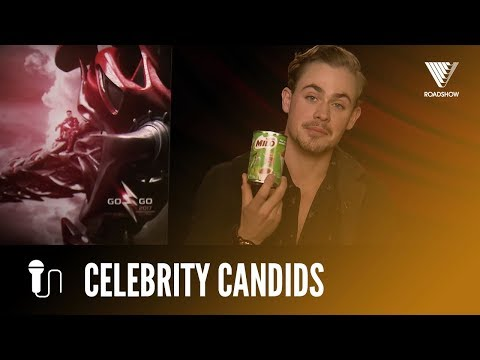 Dacre Montgomery On The Right Way To Eat Milo | POWER RANGERS fragman