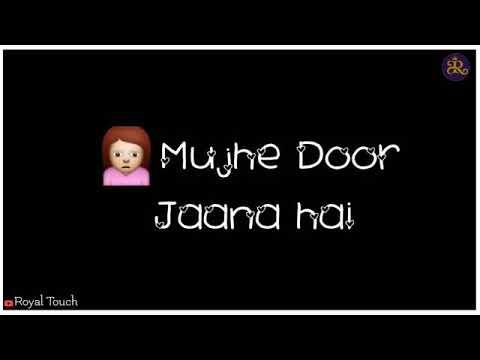 Tujhse Juda hokar Hame Dur Jana Hai Pal Bhar Ki Judaai Phir Laut Aana