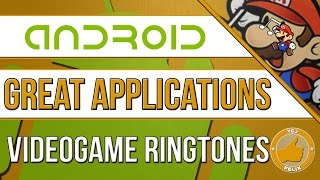 FREE Videogame Ringtones for your Android Smartphone!