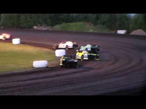 Modified Heat 4 @ Hancock County Speedway 06/28/16