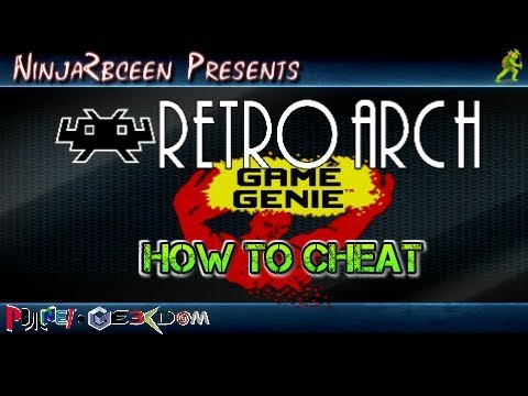 Retroarch-How To Activate Cheats