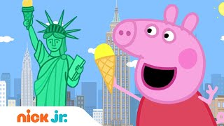 Peppa Pig Visits the USA!  Amazing America  Nick Jr.