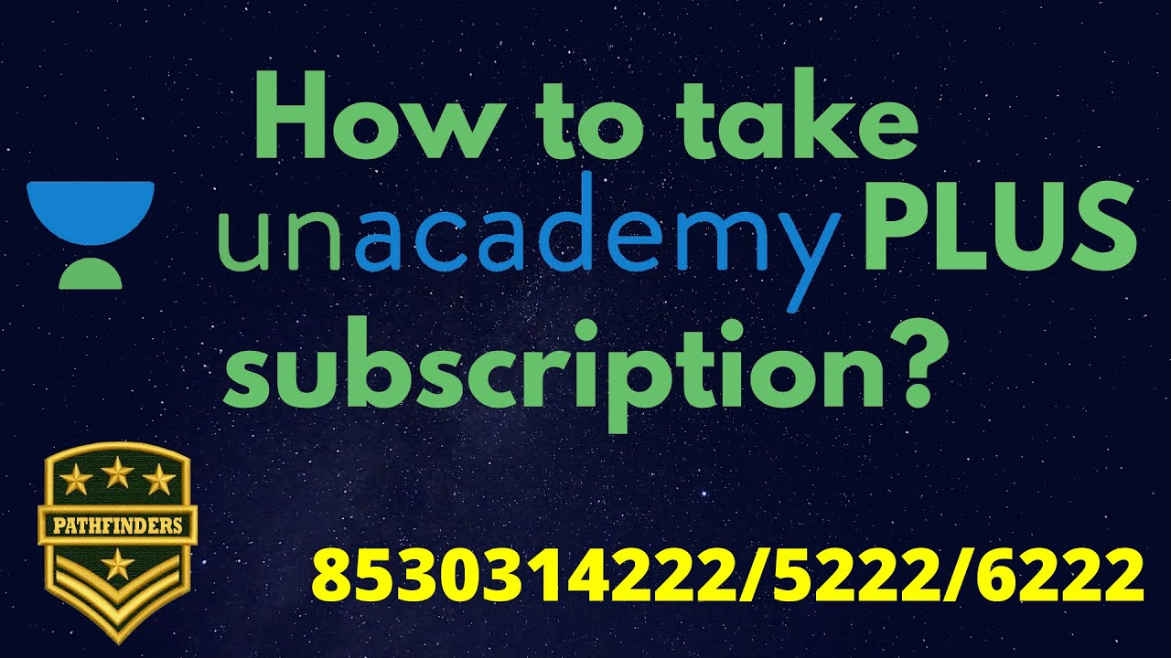 How to take Unacademy PLUS subscription? #Unacademy #Plus  #OnlineCoaching #DefenceExams