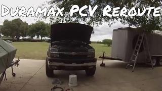 Duramax PCV reroute