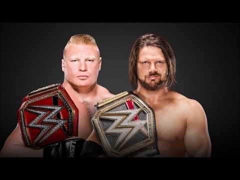 WWE Survivor Series 2017 Predictions - AJ Styles vs. Brock Lesnar