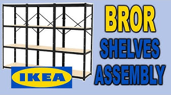 IKEA BROR Shelves - Assembly and Review | Clueless Dad
