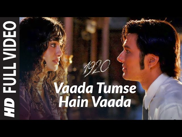 1920 hindi movie song tum se hai vaada  YouTube