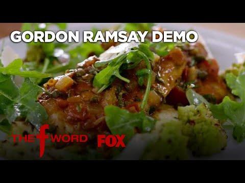 Gordon's Chicken Cacciatore Recipe: Extended Version | Season 1 Ep. 9 | THE F WORD