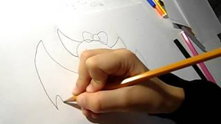 Как нарисовать летучую мышь Дракулауры(, 2015-11-07T16:52:33.000Z)