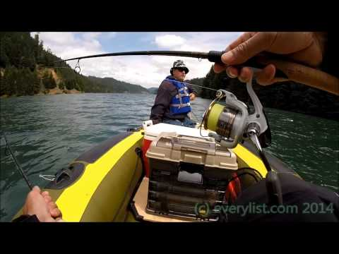 Hills Creek Reservoir Oregon Trout Fishing June 14 2014