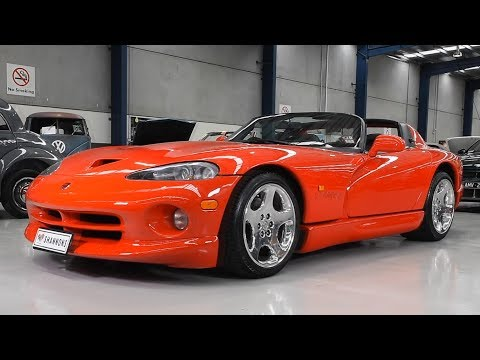 2000 Dodge Viper RT10 Roadster - 2018 Shannons Melbourne Late Spring Classic Auction