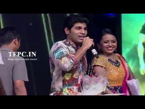 Allu Sirish Funny Speech at Sarainodu Audio Celebrations | TFPC