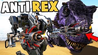 Ark Survival Evolved - NEW EPIC ANTI REX SNIPER, BEST IN GAME ANIMATIONS - Ark Modded Gameplay