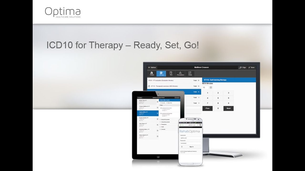 Optima Healthcare Solutions ICD-10 Training Video