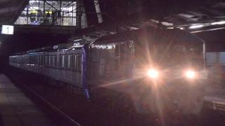 山陽本線 8862レ 東京メトロ15000系甲種輸送 東福山駅通過!
