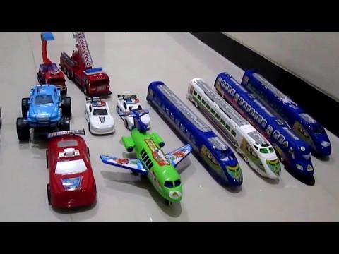 Mainan Kereta Api Mobil Mobilan dan Pesawat Terbang Asyik Menyenangkan