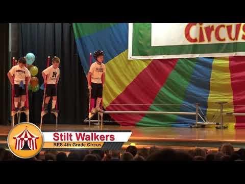 Radnor Elementary School's 4th Grade Circus 2017