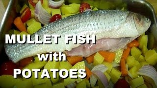 Italian Food Fish Recipes Mullet Fish Baked Mullet Easy meal #italian #food #recipes #fish