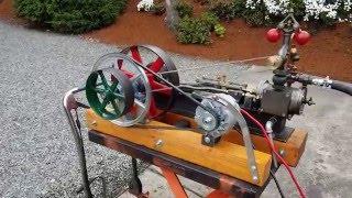 Steam engine and boiler alternator off g...