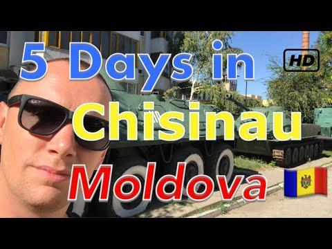 5 days in Chisinau - Moldova 🇲🇩