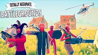 BEST CRAZIEST BATTLEROYALE GAME EVER | WHAT IS THIS? | Totally Accurate Battlegrounds Gameplay