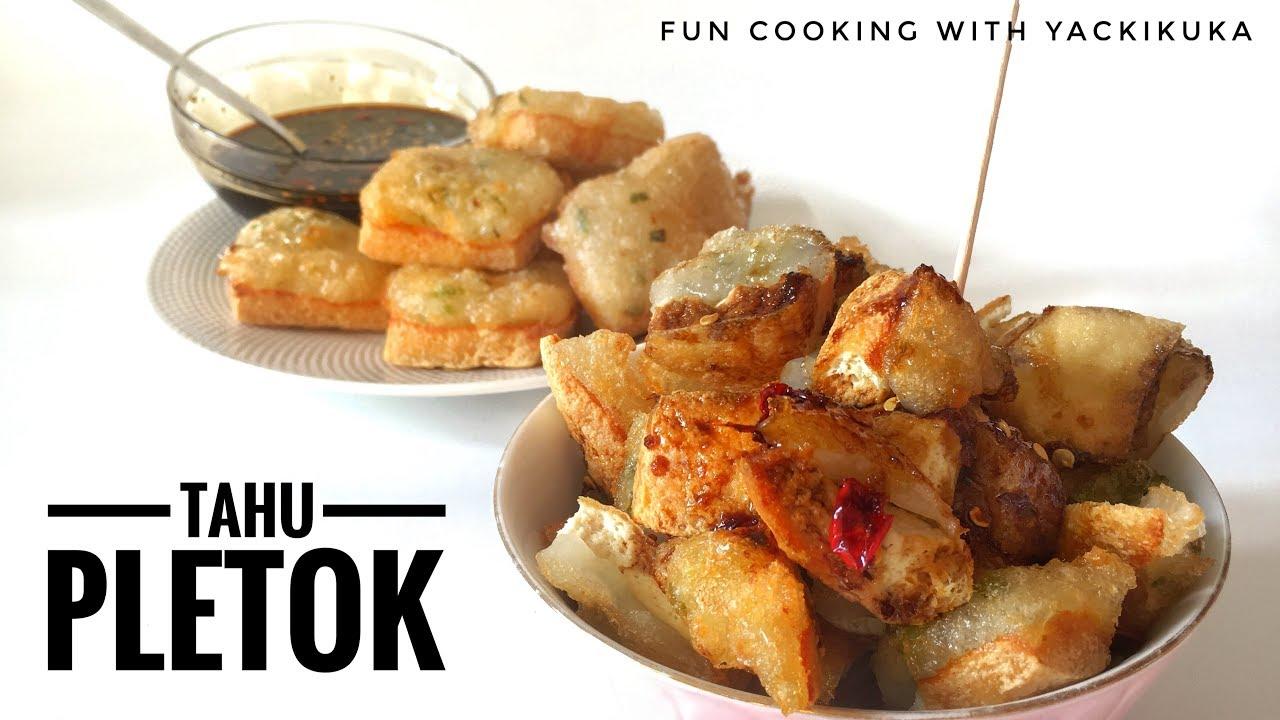 TAHU PLETOK * INDONESIAN Fried tofu with starch