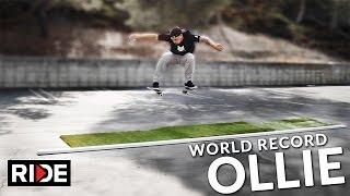 World Record Longest Ollie? 16' 6