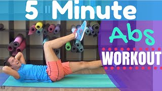 5 minute ab challenge workout