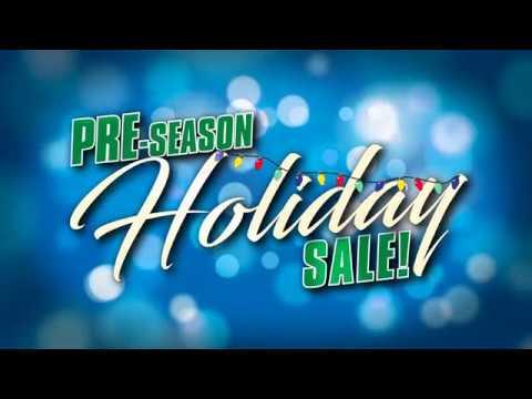 pre season holiday sales