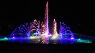 Музыкалный фонтан в Умани