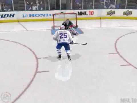 AMAZING Shoutout Goal - NHL 10