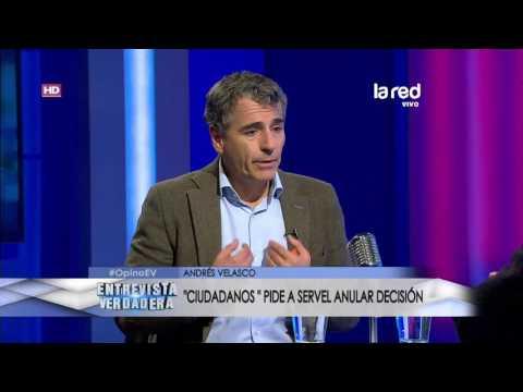 Entrevista Verdadera - Andrés Velasco - Martes 02 de Mayo 2017