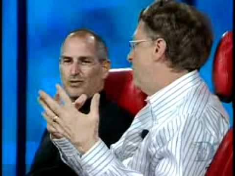 D 2007 - Steve Jobs and Bill Gates Historic Interview