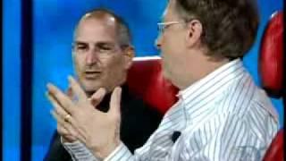 D 2007 - Stęve Jobs and Bill Gates Historic Interview