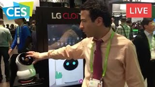 LIVE FROM CES 2018 (EXCLUSIVE LOOK AT CES TECH!)