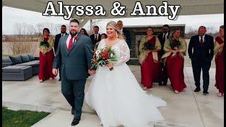 Alyssa & Andy Wedding Highlights (12-5-20)