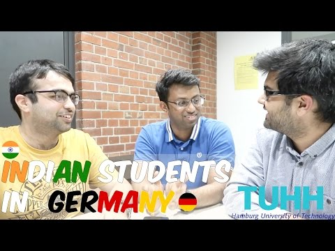 Indians Students in Germany: Harsh and Sanjay from TUHH (Hamburg) M.Sc. Mechatronics