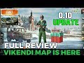 PUBG MOBILE : Vikendi Snow Map Launched || 0.10 Update || Full Review & Gameplay