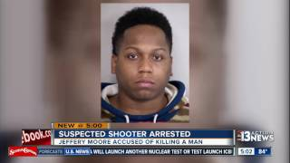 Video Man arrested in deadly North Las Vegas shooting Sunday download MP3, 3GP, MP4, WEBM, AVI, FLV November 2017